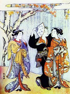 Внезапный дождь. 1760-е