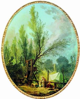 Деревенский колодец. 1772