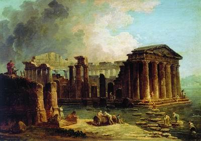 Храм среди воды
