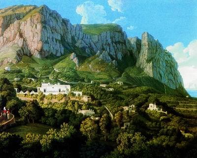 Вид острова Капри. 1792