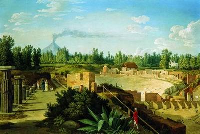 Театр в Помпее. 1793