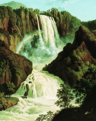Водопад в Терни. 1779
