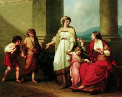 Корнелия, мать Гракхов. Ок. 1785