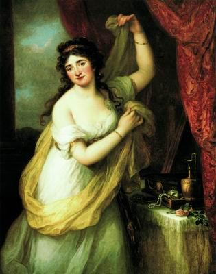 Княгиня Эстерхази в образе Венеры. 1795
