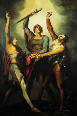 Клятва трех союзников в ущелье Рютли. 1779—1780
