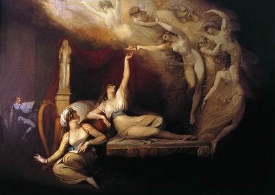 Сон королевы Екатерины. 1781