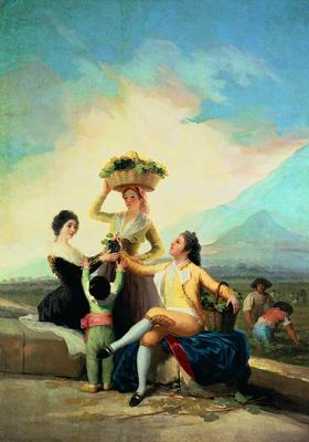 Осень. Сбор винограда. 1786
