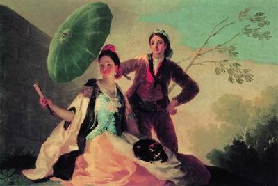 Зонтик. 1777