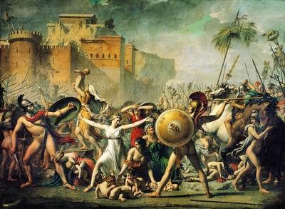 Сабинянки. 1799
