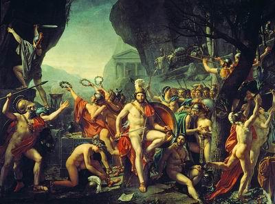 Леонид при Фермопилах. 1814