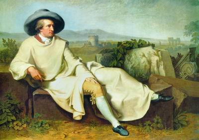Гёте в Римской Кампанье. 1786