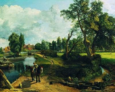 Мельница во Флетфорде. 1817
