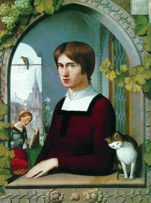 Портрет художника Франца Пфорра. Ок. 1811
