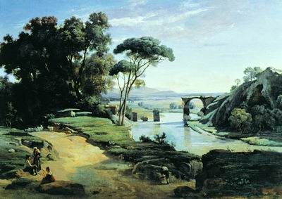 Мост в Нарни. 1826—1827