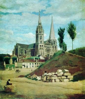 Шартрский собор. 1830