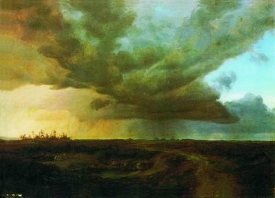 Равнина с грозовым небом. 1846