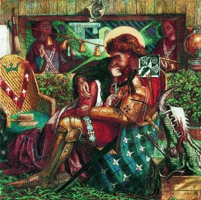 Брак Святого Георгия и принцессы Сабры. 1857