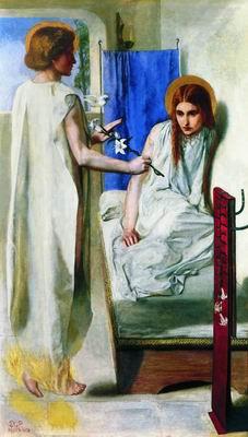 Благовещение (Ecce ancilla Domini). 1850