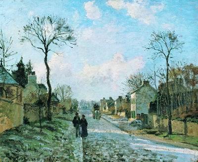Дорога в Лувесьенне. 1872