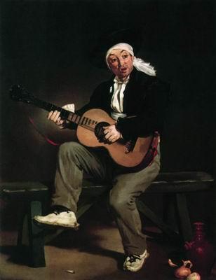 Испанский гитарист. 1860