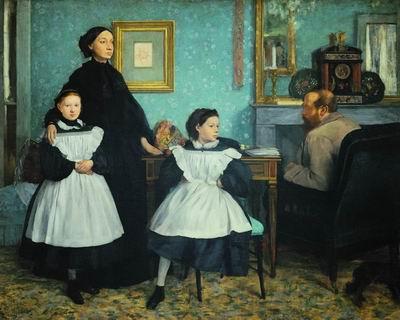 Семья Беллели. 1860—1862