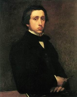 Автопортрет. 1854—1855