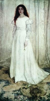 Симфония в белом № 1. Волчья шкура. 1862
