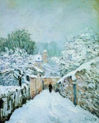 Снег в Лувесьенне. 1878