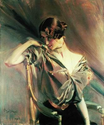 Портрет танцовщицы Клео де Мерод. 1901