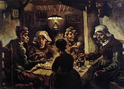 Едоки картофеля. 1885