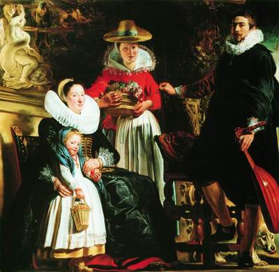 Семейный портрет ок 1621–1622