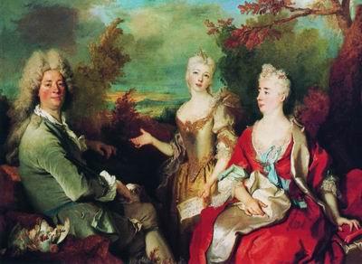 Семейный портрет. 1708—1712