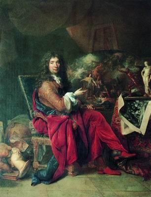 Шарль Лебрен, живописец короля. 1686