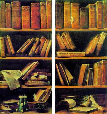 Джузеппе Мария Креспи Книжные шкафы с нотами (1730—1740)