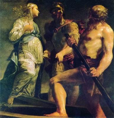Эней, Сивилла и Харон. 1700—1705