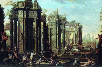 Вакханалия. 1710-е