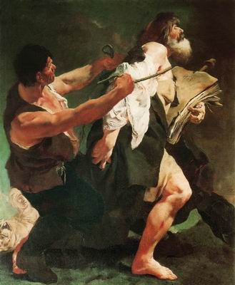 Святой Иаков, ведомый на казнь. 1717
