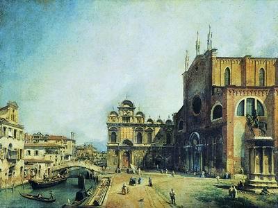 Церковь Санти Джованни э Паоло и Скуола ди Сан Марко. 1725