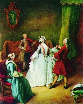 Учитель танцев. Ок. 1750