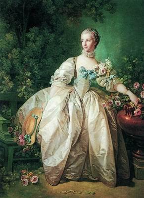 Портрет мадам Бержере (?). 1746