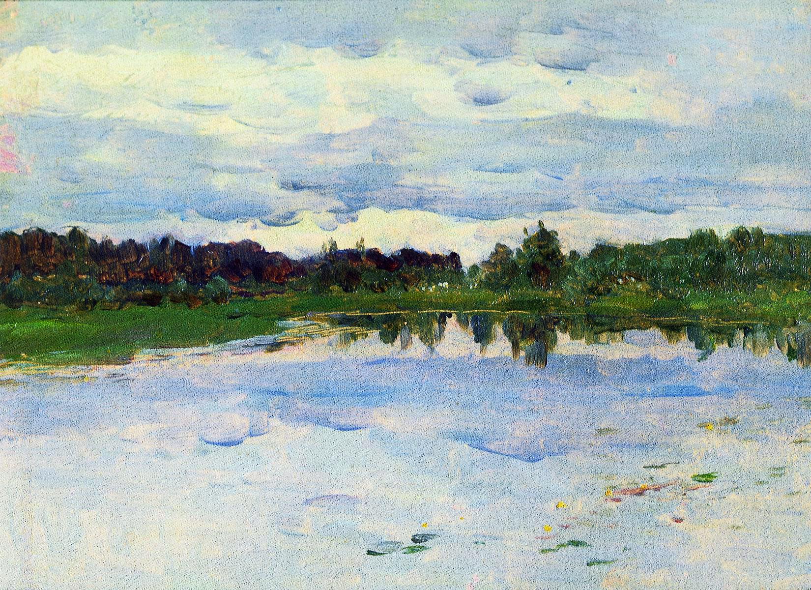 Левитан И.. Озеро