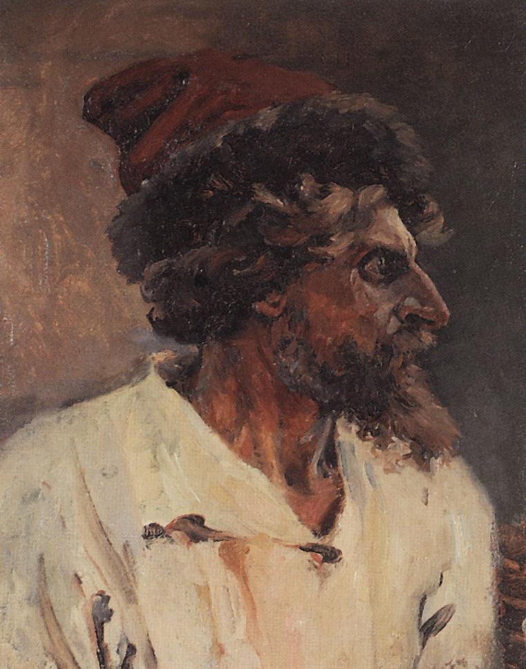 Суриков. Стрелец в шапке. 1879