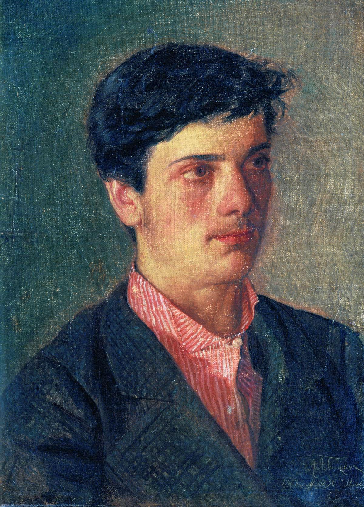 Левитан А.. Портрет И.И.Левитана. 1879