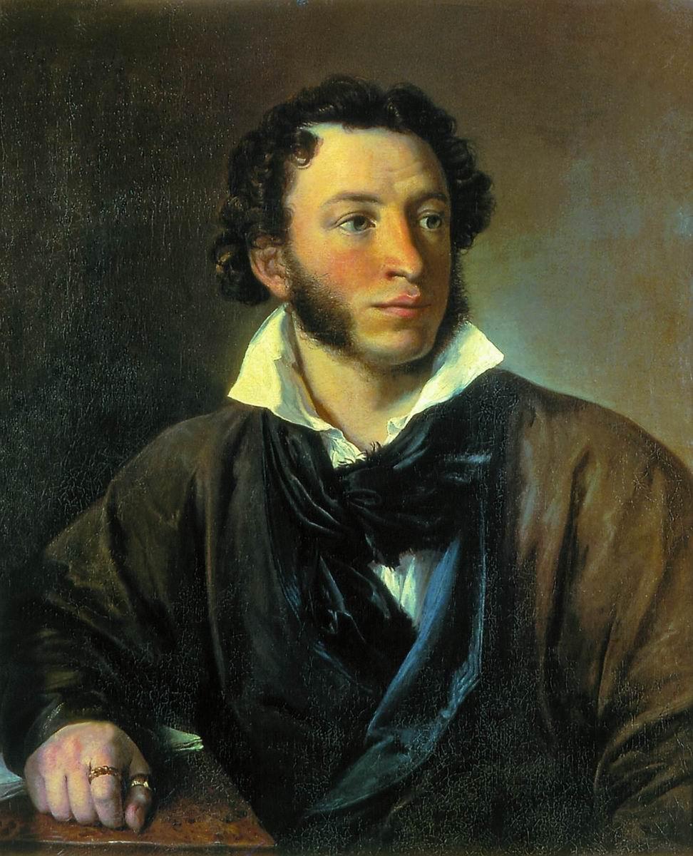 Тропинин. Александр Сергеевич Пушкин. 1827