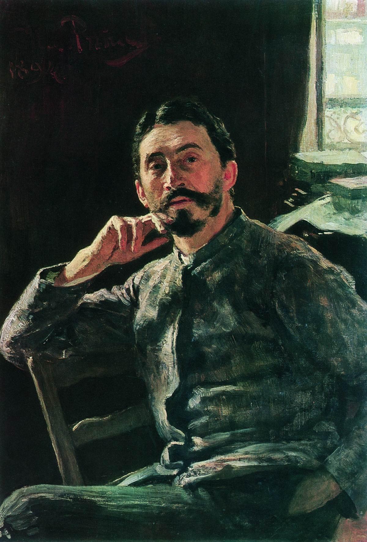 Репин И.. Автопортрет. 1894