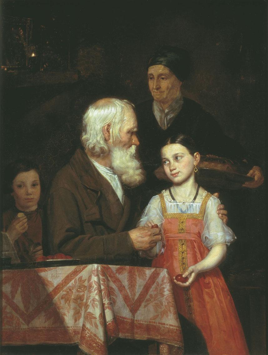 Мохов. Пасха. 1842