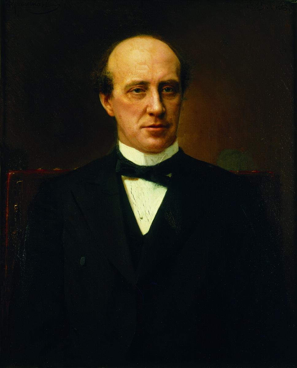 Крамской. Портрет Юрия Степановича Нечаева-Мальцева. 1885