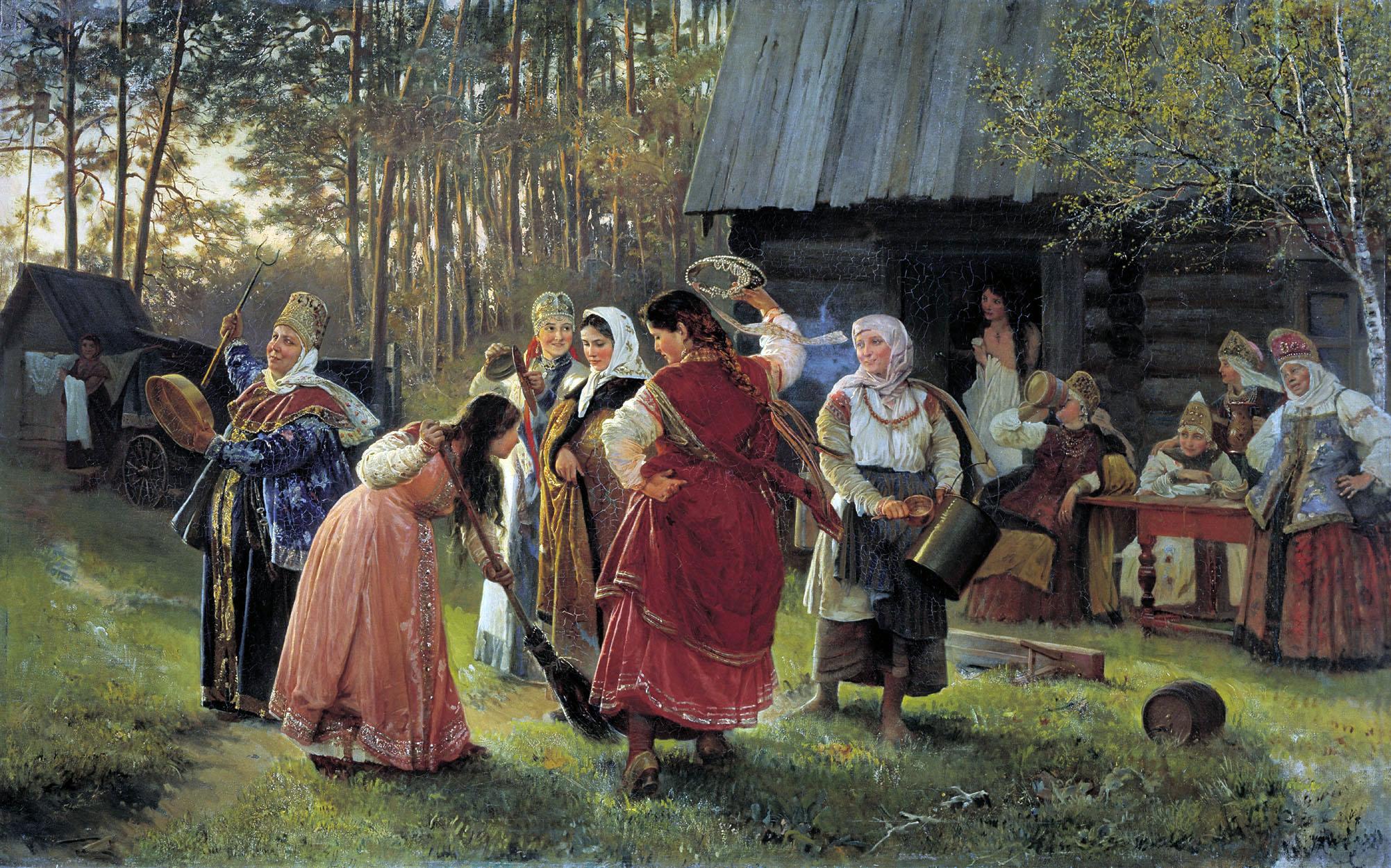 Корзухин. Девичник. 1889