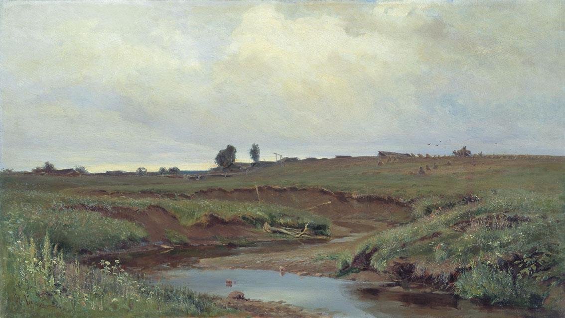 Хохряков. Пасмурный день. 1886