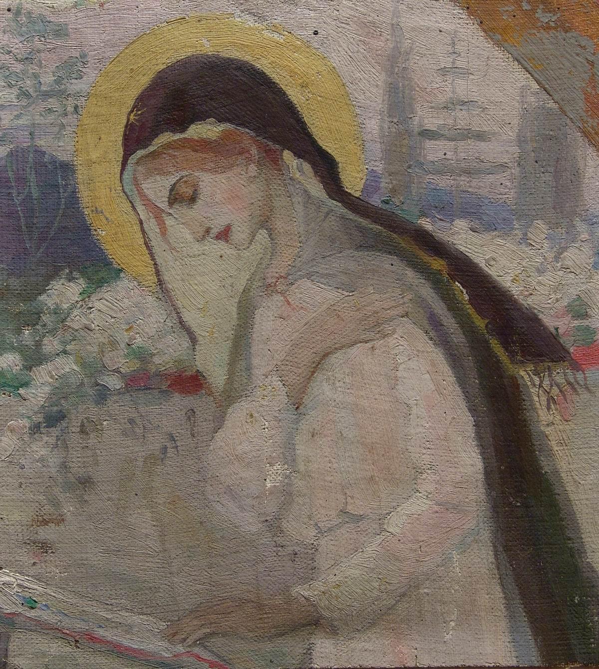 Нестеров М.. Дева Мария